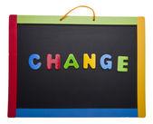 Lesson on Change — Stock Photo
