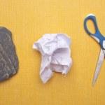 Rock, Paper, Scissors — Stock Photo #3086985