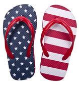 Azul y blanco rojo patriótico fracaso de tirón de s — Foto de Stock
