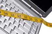 Measuring the Time You Spend Online — Stock Photo