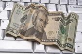 Geld verdienen im internet — Stockfoto