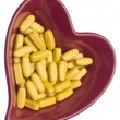 Pills for Heart Health — Stock Photo