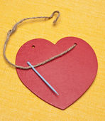 Mending a Broken Heart — Stock Photo
