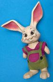 Vintage Bunny Toy — Stock Photo