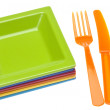 Vibrant Place Setting - Stock Photo