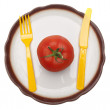 Tomato Snack - Stock Photo