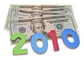 Ganhar dinheiro em 2010 — Foto Stock