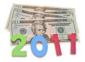 Make Money in 2011 — Stock Photo