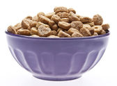 Breakfast Cereal with Heart Shapes — Stock Photo