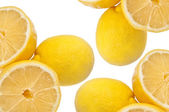 Juicy Lemon Background — Stockfoto