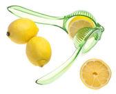 Fresh Squeezed Lemons — Stock Photo