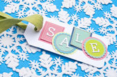 Holiday Sale — Stock Photo