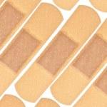 Band Aid Background — Stock Photo #3427261