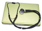 Concepto de registros médicos — Foto de Stock