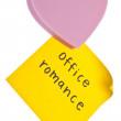 Office Romance — Stock Photo