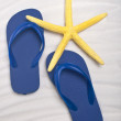 Stock Photo: Summer Flip Flop Sandals