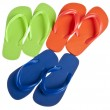 Summer Flip Flop Sandal Background — Foto Stock