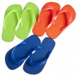 Summer Flip Flop Sandal Background — Stock Photo #3534002