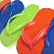 Stock Photo: Summer Flip Flop Sandal Background