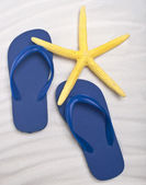 Summer Flip Flop Sandals — Stock Photo