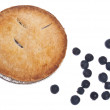 Blueberry Pie with Fresh Blueberries — ストック写真
