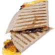 Extra Cheesy Quesadilla — Stock Photo