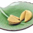 Pair of Fortune Cookies — Stock Photo