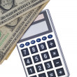 Calculating the Cost — Stock Photo