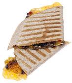 Extra Cheesy Quesadilla — Stock Photo