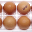 Egg Recall - Stock Photo