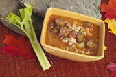 Gumbo with Okra — Stock Photo