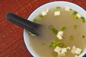 Fresh Miso Soup — Stock Photo