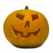 Big orange Jack-O-Lantern Pumpkin — Stock Photo
