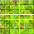 Seamless tiles in green color — Stock Photo #2696258