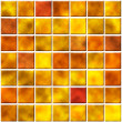 Stock Photo: Seamless tiles in orange color