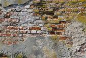 Mur de briques médiéval — Photo