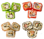 Rolls of sushi — Stock Photo