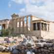 Erechtheion temple on acropolis, Athens — Stock Photo