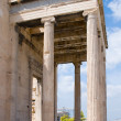 Erechtheion temple on acropolis, Athens — Stock Photo #3234456