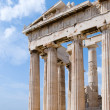 The Temple of Athena at the Acropolis — Stock Photo #3234522