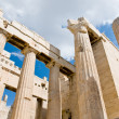 Stock Photo: The Temple of Athena at the Acropolis