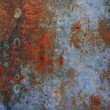Rusty grunge metallic texture — Stockfoto