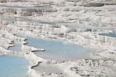 Pamukkale limestone pools. — Stock Photo
