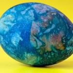 Blue easter egg — Stock Photo