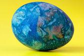 Blue easter egg — Stockfoto