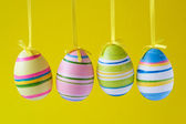 Four ornate easter eggs — Stock Photo