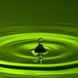 Green splash — Stock Photo