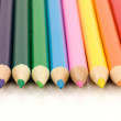 Set of colored pencils — Foto de Stock