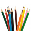 Set of colored pencils - Stock Photo