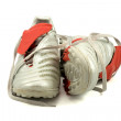Stock Photo: Pair of soccer shoes